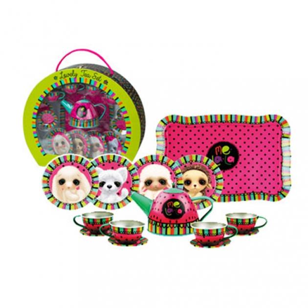 Набор металлической посуды melala чудесное чаепитие 15 предметов Делай с мамой 55869