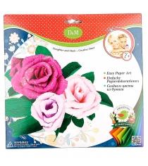 Набор для создания цветов из бумаги розы Делай с мамой 57404...