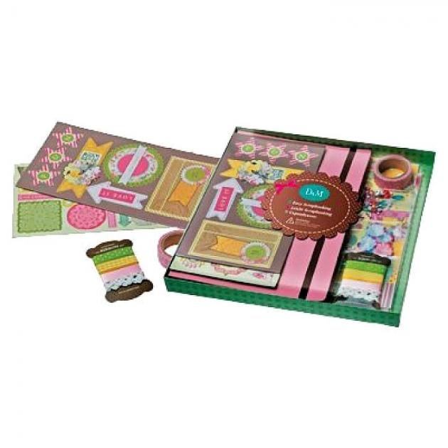 Набор для скрапбукинга сладкие воспоминания Делай с мамой 57408