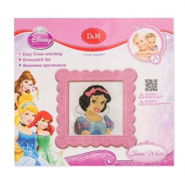 Набор для вышивания крестиком disney princess белоснежка 22 x 24 см Делай с мамой 57900