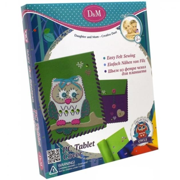 Набор для творчества шьем из фетра чехол для планшета совы Делай с мамой 57962