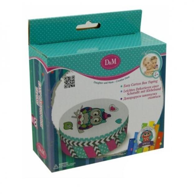 Набор для творчества украшаем коробочку совенок Делай с мамой 60704