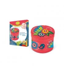 Набор для создания шкатулки цветы и птицы Делай с мамой 60759...