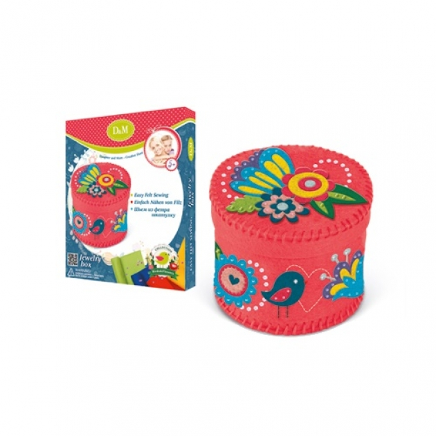 Набор для создания шкатулки цветы и птицы Делай с мамой 60759