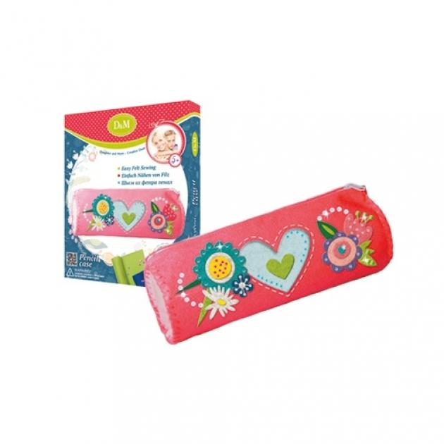 Набор для создания пенала цветы и птицы Делай с мамой 60761