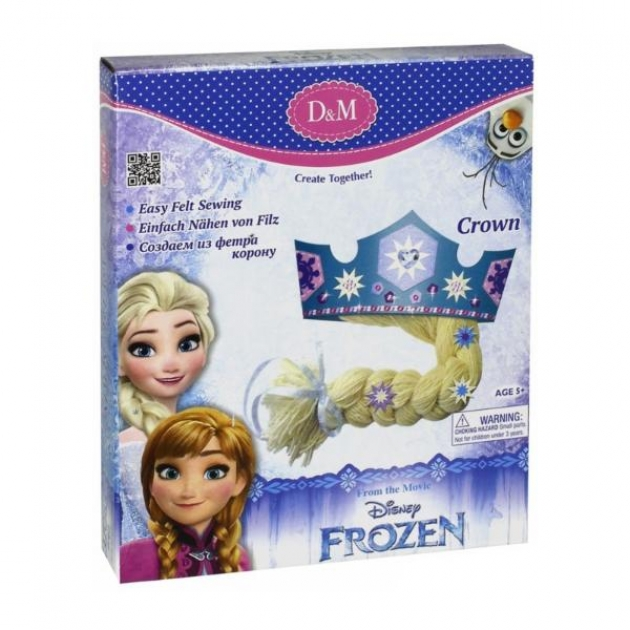 Набор для создания короны из фетра принцесса эльза Делай с мамой 63835