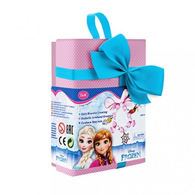 Набор для создания браслета в подарочной упаковке холодное сердце Делай с мамой 63869