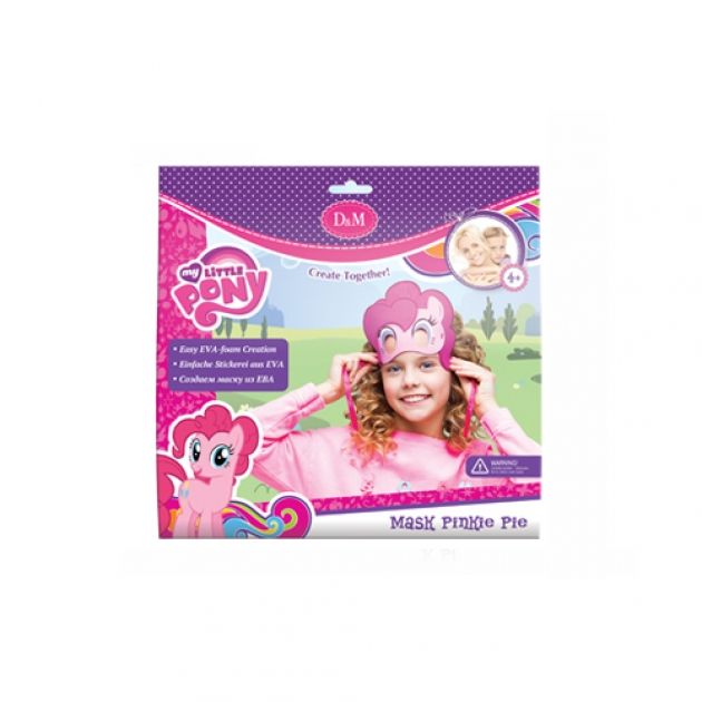 Набор для создания маски май литл пони пинки пай Делай с мамой 64947
