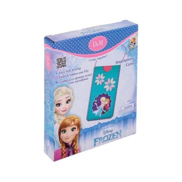 Набор для шитья чехла для телефона холодное сердце эльза и анна Делай с мамой 65107