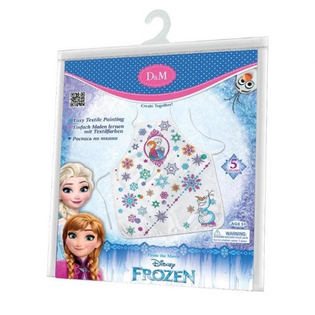 Набор для росписи фартука холодное сердце принцессы Делай с мамой 65108