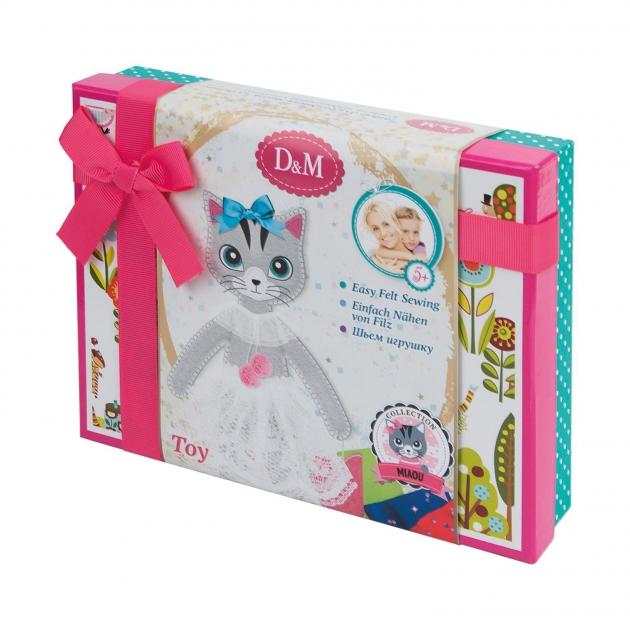 Набор для творчества шьем игрушку из фетра кошка алиса Делай с мамой 66051