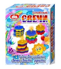 Набор для творчества Дети арт слоеные свечи тучкисолнышки 18003