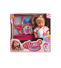 Кукла baby nena ветеринар пьет писает 36 см Dimian BD382