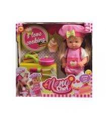 Кукла baby nena шеф повар пьет писает 36 см Dimian BD387