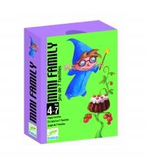 Детская настольная карточная игра Djeco Мини семья 5101