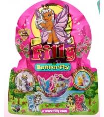 Лошадка коллекционная filly бабочки Dracco M770001-3850