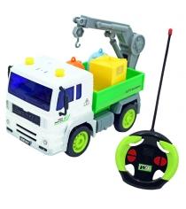 Машина на радиоуправлении грузовик мусоровоз с манипулятором Drift 47985