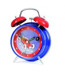 Детские часы будильник Egmont Гоночные машинки 12 см 318018