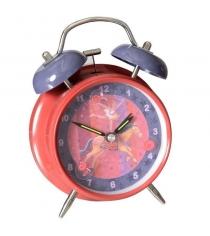 Детские настольные часы будильник цирк egmont 318025