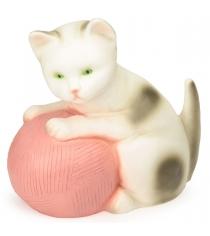 Ночник Egmont Котенок с розовым клубком 23 см 360293PI