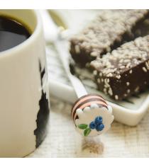 Вкусная ложка bon bon торт шоколадный черничка Эйфорд LBB-06