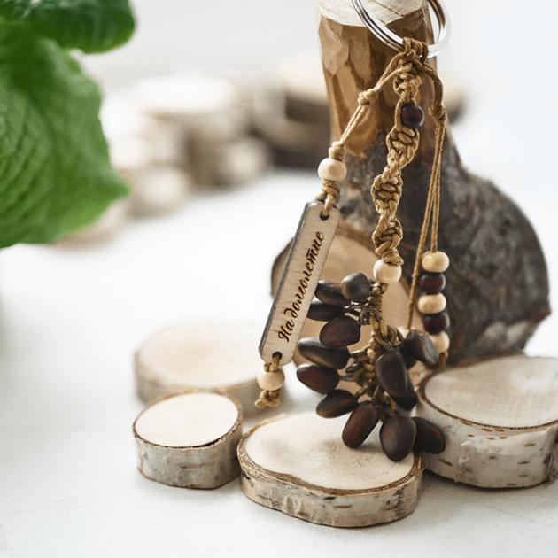 Брелок кедровый орех оберег на долголетие Эйфорд BTP-M