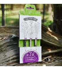 Салатный микс набор графитных растущих карандашей Эйфорд RK-01-03-01