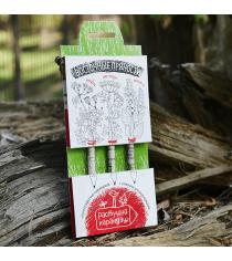 Восточные пряности набор графитных растущих карандашей Эйфорд RK-01-03-05
