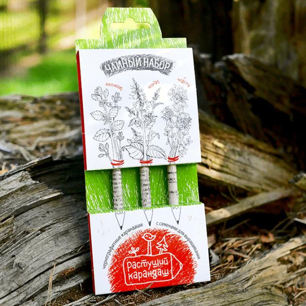Чайный набор набор графитных растущих карандашей Эйфорд RK-01-03-09