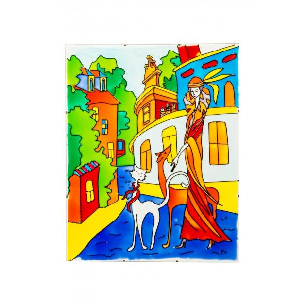 Прогулка набор для творчества искусство витража Эйфорд