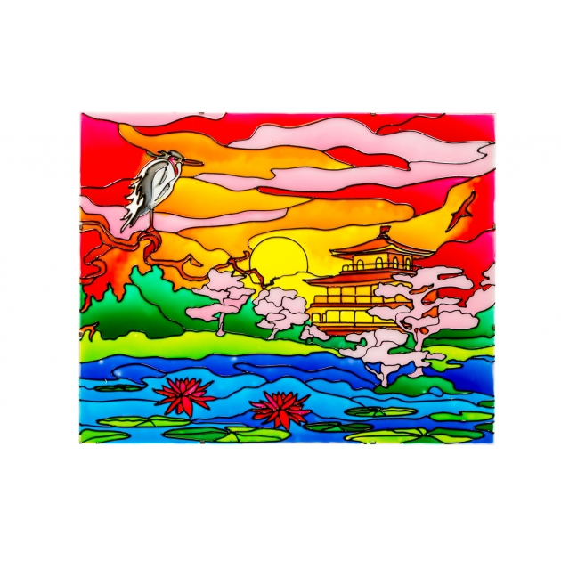 Япония набор для творчества искусство витража Эйфорд