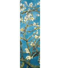 Закладка с резинкой ван гог цветущие ветки миндаля арте