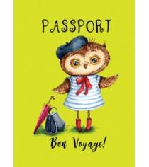 Сова mon amour обложка на паспорт