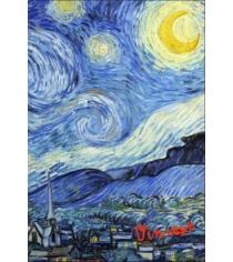 Обложка для паспорта ван гог звёздная ночь арте