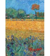 Обложка для паспорта ван гог пшеничное поле арте