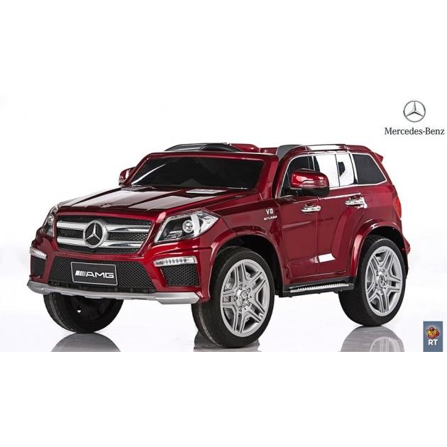 Электромобиль mercedes bens amg 12v r c бордо с резиновыми колесами 5038