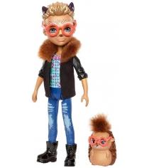 Кукла Enchantimals Хиксби ежик с питомцем FJJ22