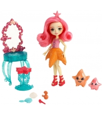 Кукла Enchantimals Старлинг с питомцами FKV59