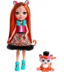 Кукла Enchantimals Тигрица Тэнзи с питомцем FRH39