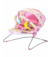 Стульчик шезлонг Everflo Baby bouncer BeabyBus UC42 pink