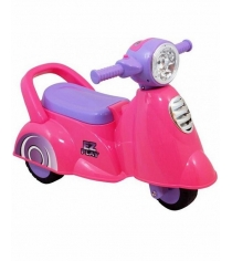 Каталка Everflo Мотоцикл 605 розовая