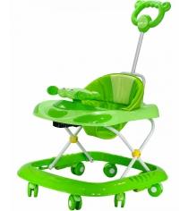 Ходунки Everflo Веселый крабик зеленые