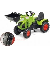 Трактор экскаватор Falk педальный зеленый 140 см FAL 1011D