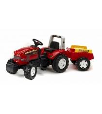 Трактор Falk педальный с прицепом красный 180 см FAL 1070B
