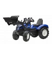 Трактор экскаватор Falk педальный синий 134 см FAL 3092D