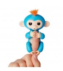Fingerlings Ручная обезьянка Борис 3703A интерактивная игрушка робот WowWee