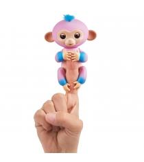 Fingerlings Обезьянка Канди розовая и голубая 12 см 3722 WowWee