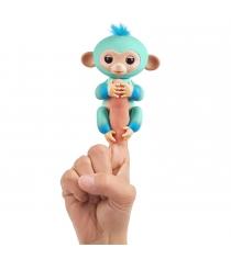 Fingerlings Обезьянка Эдди голубая 12 см 3724 WowWee