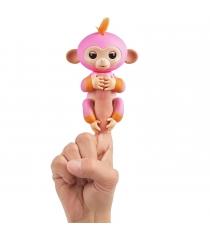 Fingerlings Обезьянка Саммер розовая с оранжевым 12 см 3725 WowWee