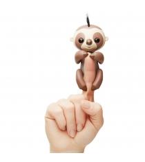 Fingerlings Ленивец Кингсли коричневый 12 см 3751 WowWee